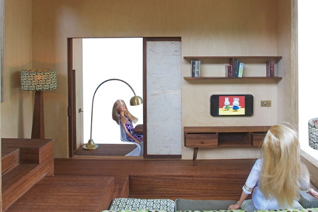 Spiral Dollhouse: la casa di Barbie diventa moderna