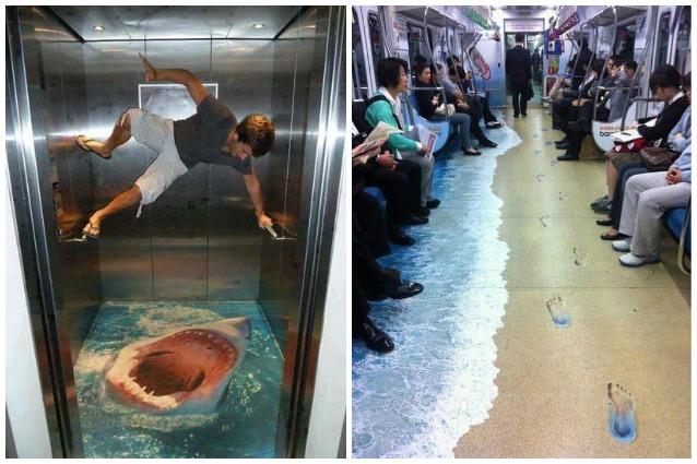 3D Painting Pavement: quando i luoghi pubblici diventano opere d'arte