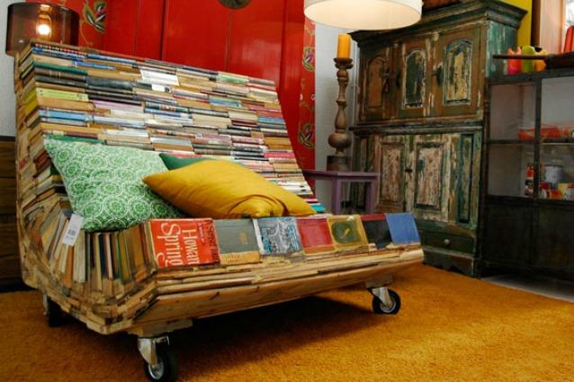 20 idee per riciclare i vecchi libri in modo creativo