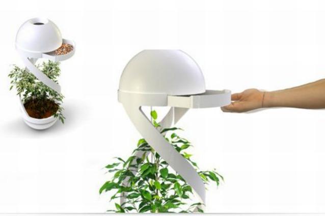 Cindy: il posacenere che trasforma i mozziconi di sigaretta in fertilizzante