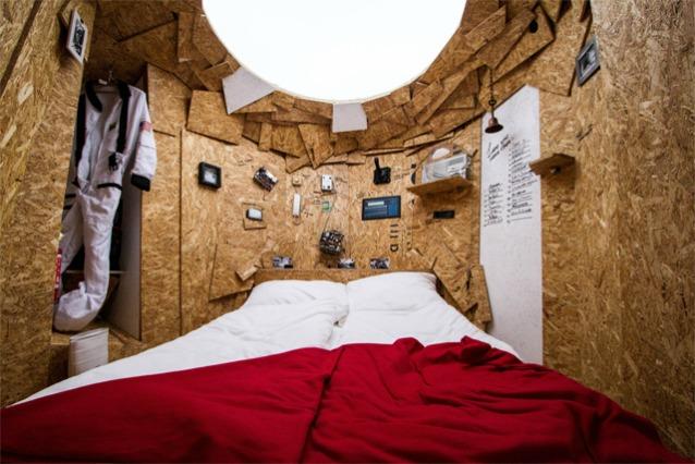 Hotel Shabby Shabby: l'albergo temporaneo realizzato con i rifiuti