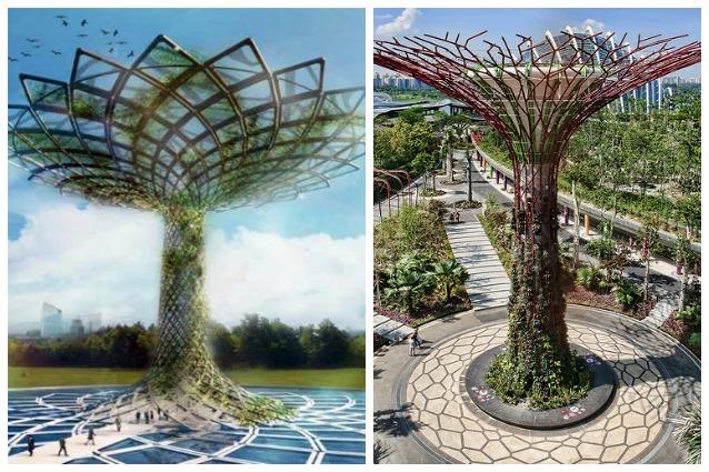 """Expo 2015: """"L'albero della Vita copia i Supertrees di Singapore"""""""