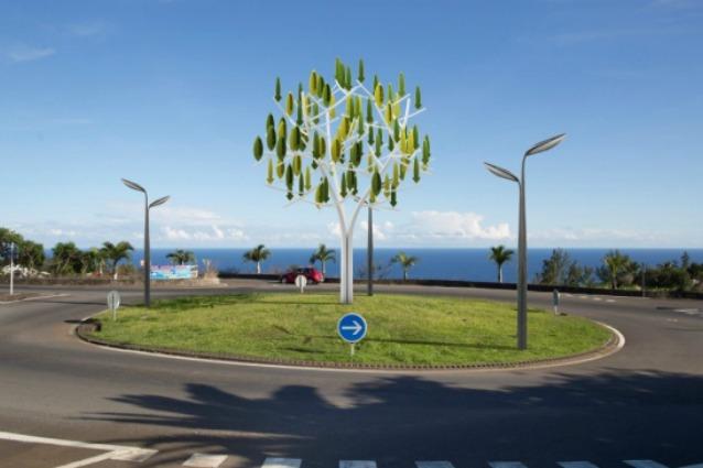 Arbre à Vent: l'albero che produce energia grazie al vento