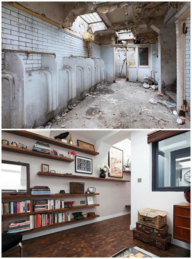 Londra il bagno pubblico diventa una casa di lusso