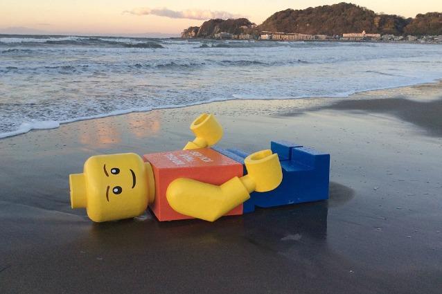 Giappone, giganteschi omini Lego invadono la Terra
