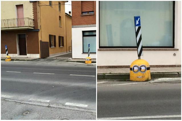 Mirabello, Cattivissimo Me invade le strade della provincia ferrarese