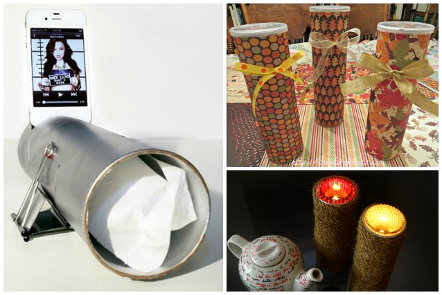 Come riciclare i tubi delle patatine: 10 idee originali per un utilizzo creativo