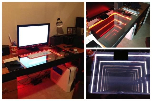 Design futuristico: ecco la prima scrivania infinita
