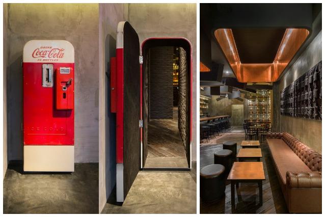 Shanghai: ecco il bar che si nasconde dietro un distributore CocaCola