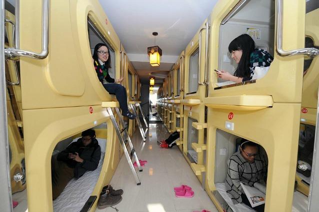 Cina, i capsula hotel conquistano l'Oriente