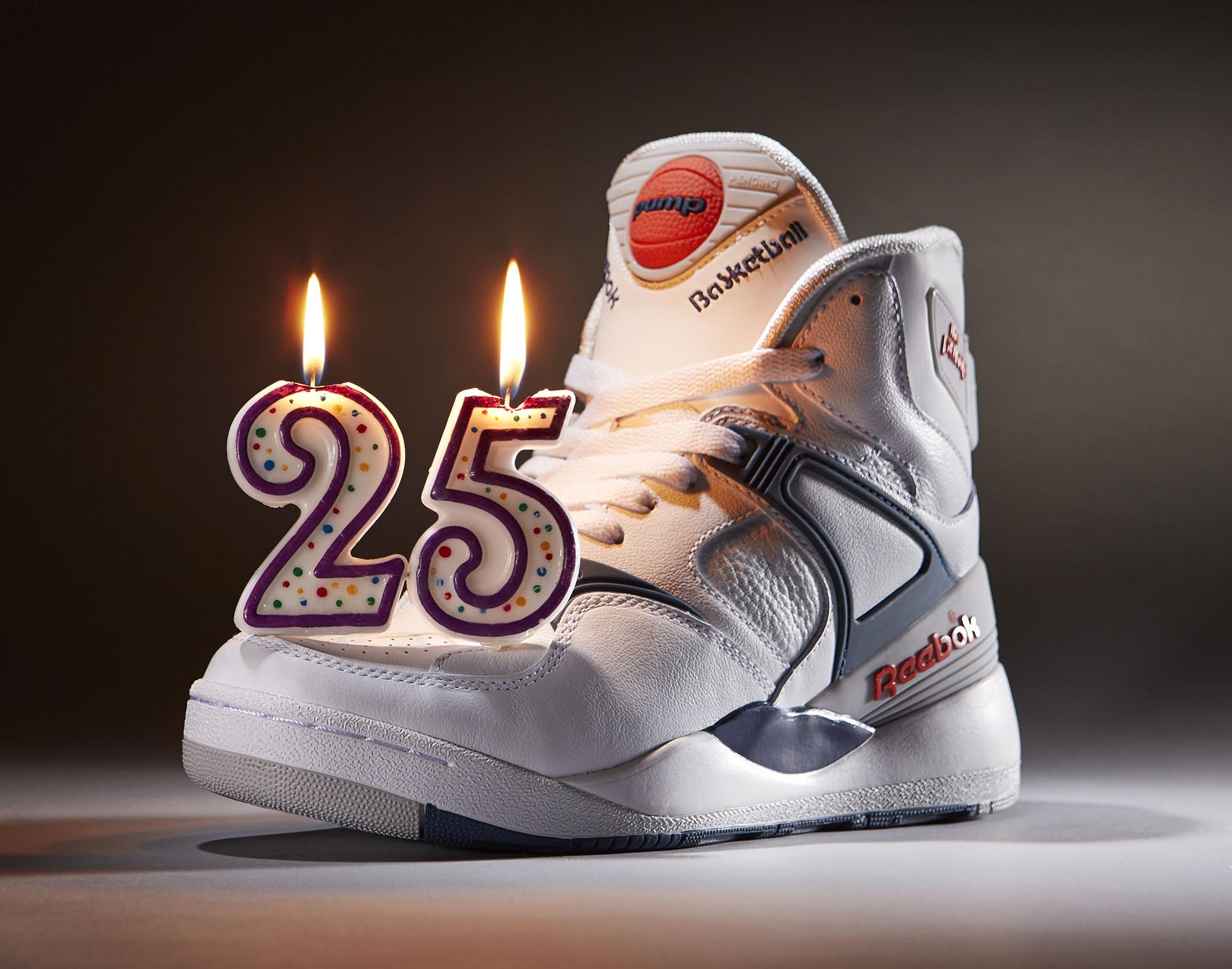 Reebok Pump: le scarpe iconiche festeggiano il 25esimo compleanno (FOTO)