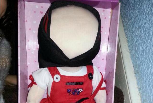 Romeisa, la bambola musulmana senza i tratti del volto