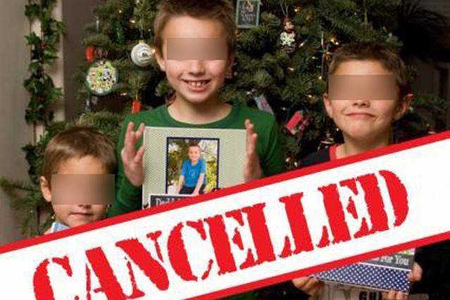 La mamma che ha cancellato il Natale per dare una lezione ai figli irrispettosi