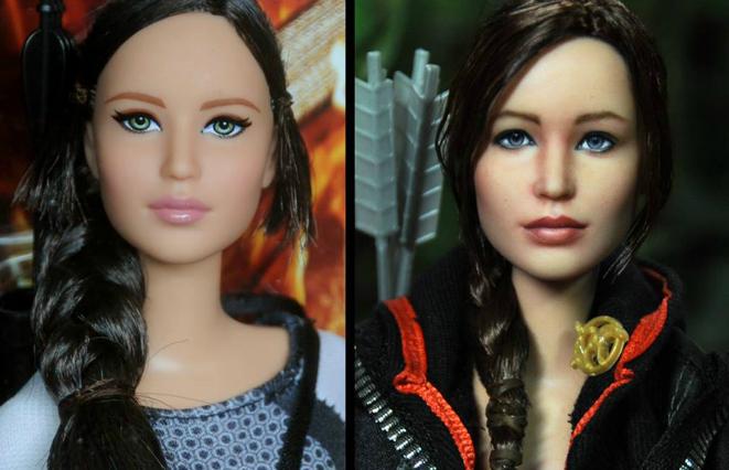 Katniss diventa una Barbie: ecco la bambola di Hunger Games