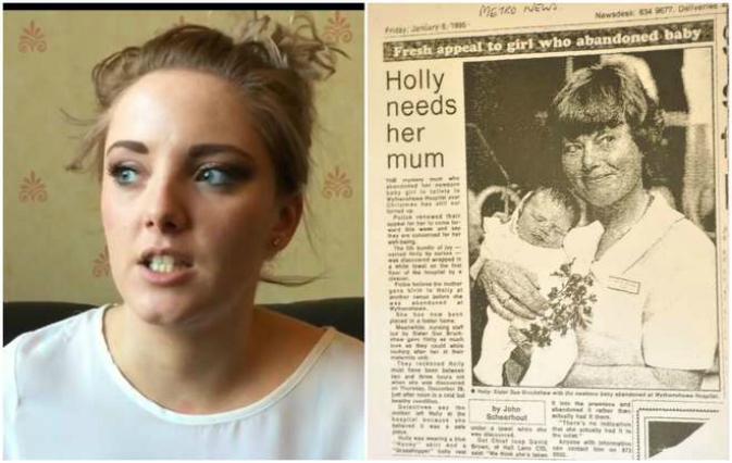 Abbandonata dopo la nascita, Leah oggi cerca la sua vera mamma