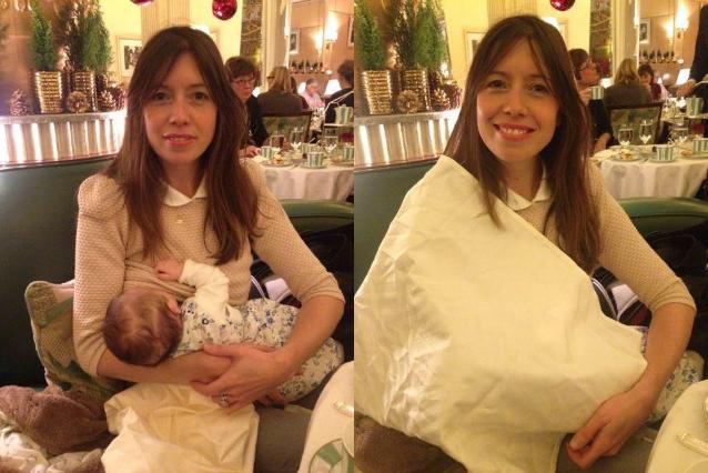 Allatta la sua bambina e le viene chiesto di coprirsi: Lou e l'umiliazione subita