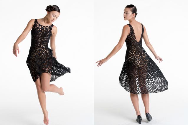 Il primo abito in 4D: si adatta alle forme del corpo di una donna (FOTO)
