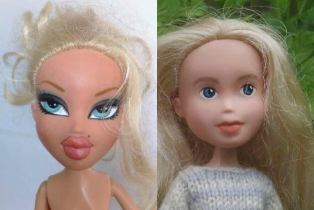 Arrivano le bambole acqua e sapone: non hanno più trucco ed abiti fashion (FOTO)