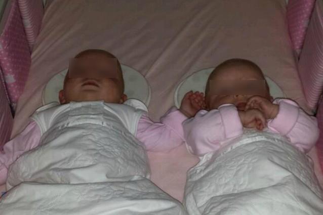 Le gemelline nate per miracolo grazie alla mamma che ha scelto di non abortire