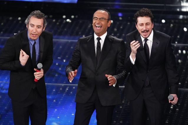 Sanremo 2015: terza serata cuscinetto che incorona Arisa, Nek e Luca e Paolo