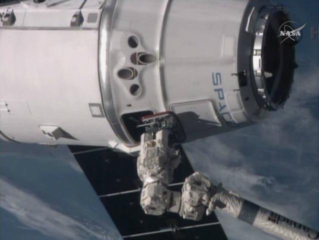 Alla Stazione Spaziale Internazionale sono arrivati i rifornimenti