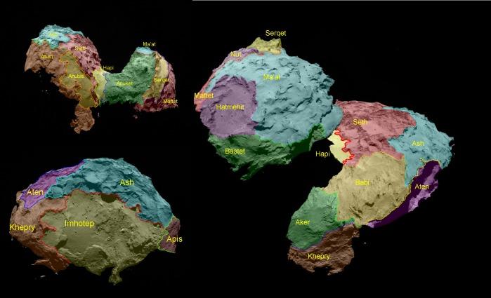 Rosetta svela le sorprese della Cometa