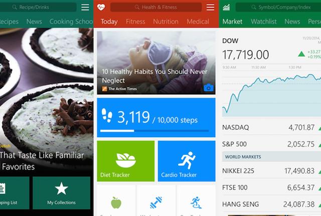 Microsoft, l'azienda di Redmond pubblica le applicazioni MSN su iOS e Android