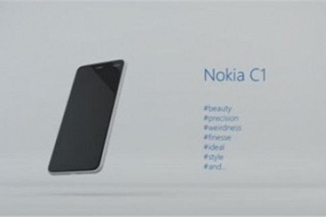 Nokia C1, prime foto del nuovo smartphone Android dopo l'acquisizione di Microsoft