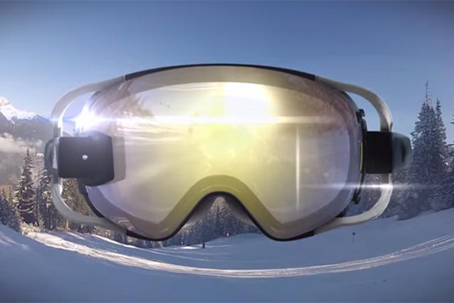 RideOn, gli occhiali da sci con la realtà aumentata [VIDEO]