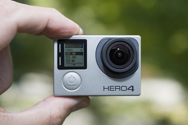 Apple brevetta un'action camera e le azioni di GoPro calano del 12%