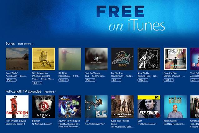 Free On iTunes, ogni settimana contenuti gratuiti per gli utenti