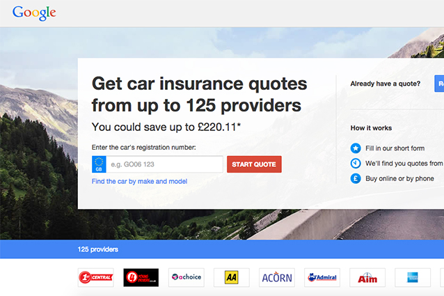 Google, in arrivo un nuovo servizio dedicato alla vendita di assicurazioni auto