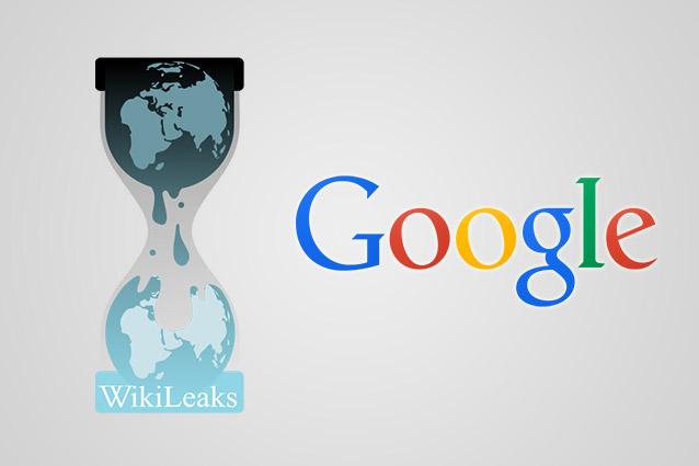 Wikileaks accusa Google di aver consegnato dati e emali agli Usa