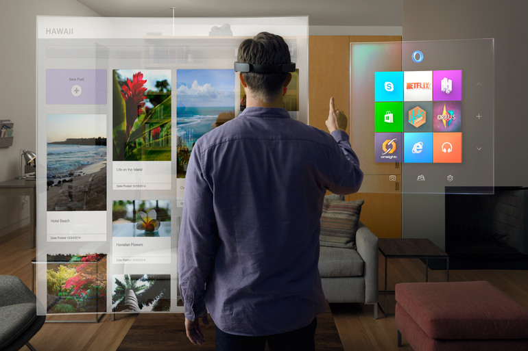 HoloLens, gli ologrammi sono realtà grazie al visore di Microsoft