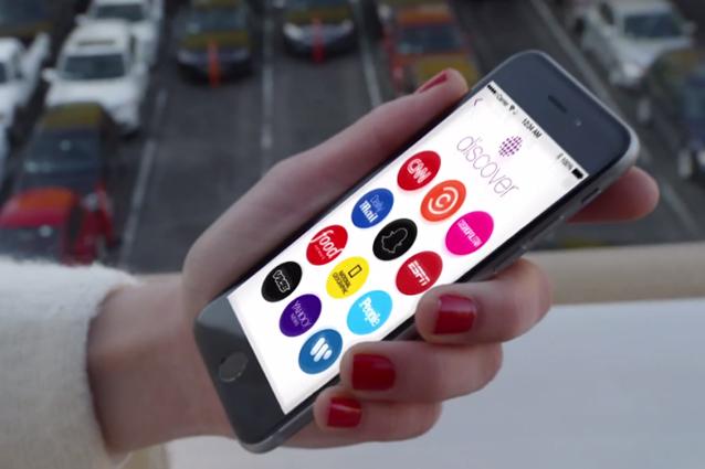 Snapchat si aggiorna ed introduce Discover: arrivano i contenuti editoriali