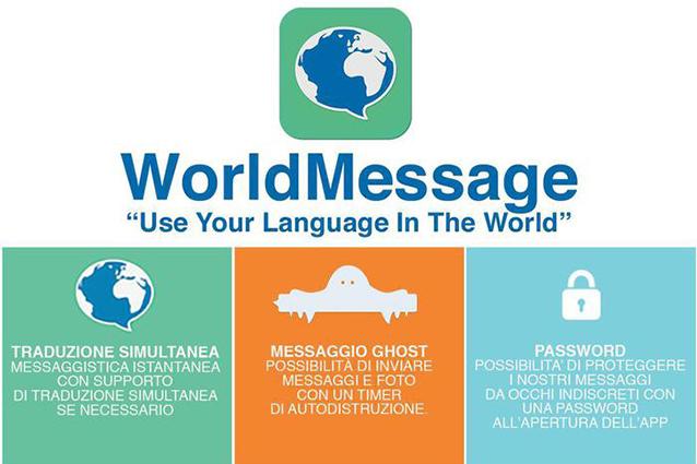 WorldMessage, l'alternativa italiana a WhatsApp con traduttore simultaneo dei messaggi